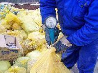 Опасные медицинские отходы на территории Подмосковных госпиталей