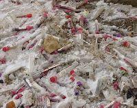 Незаконная свалка отходов ЛПУ обнаружена в Заволжском районе Ярославля