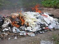 В Перми сжигают медицинские отходы