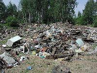 Жители Перми обратились с жалобой на несанкционированную свалку медицинских отходов