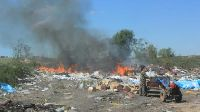 В Волгоградской области вновь горит свалка