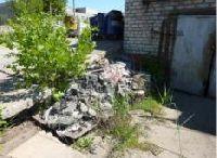 В Волгограде мед. отходы выбрасывали на улицу